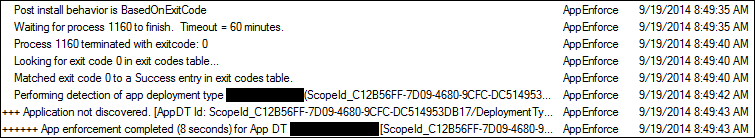 SCCM Detection Failure - SCCM Detection Clauses Using Scripts
