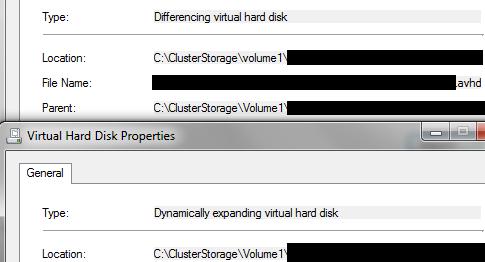 VMM Error 801 - Differencing Disk